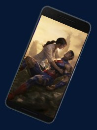Death of Superman - Phone Display -Superman Dying